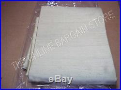 1 Pottery Barn DUPIONI SILK Drapes Panels Curtains Pole Top 50x108 Pear