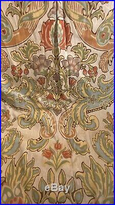 1 Sets Of Pottery Barn Simone Curtains, 50 x 96 TWO PANELS