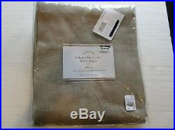 2 Pottery Barn BELGIAN FLAX LINEN SHEER CURTAINs drapes panels FLAX 48 X 84 New