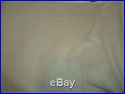 2 Pottery Barn EMERY LINEN/COTTON DRAPEs doublewide 100 96 blackout ivory New