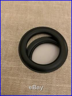 2 Pottery Barn Emery Grommet BLACKOUT 50x108 drapes panels OATMEAL Linen/cotton