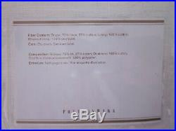 2 Pottery Barn Emery Linen Grommet Top Curtains White 50x96 Drapes New Free Ship