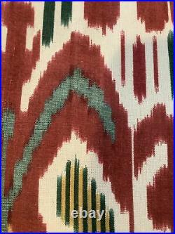 2 Pottery Barn Ikat Curtains 50 X84 #1200
