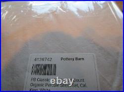 2 Pottery Barn Riviera DRAPEs panels curtains 50 96 blackout sandalwood New