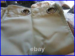 2 Pottery Barn SUNBRELLA SOLID OUTDOOR GROMMET DRAPEs 50 96 spa curtains New