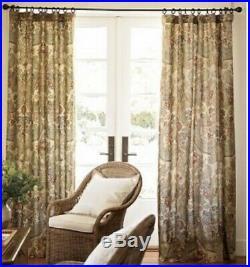 2 Pottery Barn Simone Drapes, Curtains, Window Treatments, 50x96. 6 available