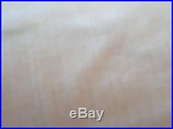 2 Pottery Barn Vintage Velvet drapes panels 50 X 84 alabster New