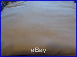 2 Pottery Barn pole top silk drapes panels white 50 X 96 New