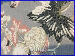 2 pottery barn emmaline print curtains 50x108 # 1909