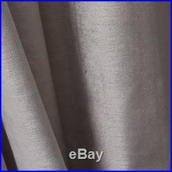 Luster Velvet Curtain 48Wx108L in Platinum from West Elm/Pottery Barn