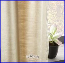 Luster Velvet Curtain 48x96 in Stone from West Elm/Pottery Barn