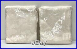 NEW Pottery Barn 2 Belgian Flax Linen Poletop Sheer 50x108 Drapes CurtainsIvory