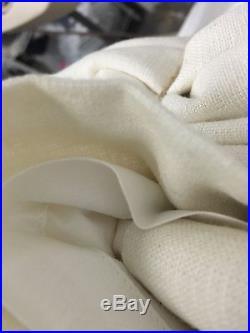 NEW Pottery Barn Emery Double Wide Drape 100' x 96'Ivory