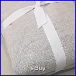 NEW Pottery Barn Teen PBteen Gray CLASSIC LINEN BLACKOUT Drape Curtain 44 x 96