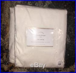 New2Pottery Barn Emery Linen Cotton DrapesIvory50x84