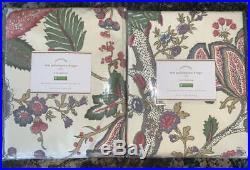 New2 Pottery Barn Resi Palampore Drapes Curtains50x96