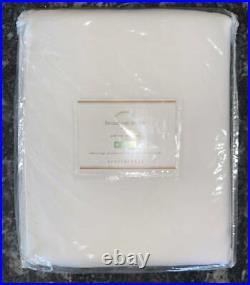 NewSet of 2Pottery BarnBroadway Curtains Drapes PanelsWhite50x84