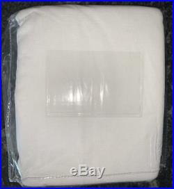 NewSet of 2Pottery BarnBroadway Curtains Drapes PanelsWhite50x96