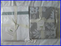 New Auth Pottery Barn Morgan/lana Shower Curtain 72x72in 183x183 CM Set Of 2