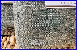 New Pottery Barn Sage Grass Emery Linen Cotton Drape 84 Curtain Set of 2 NIP