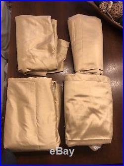 PB Set Of 4 Silk Drapes 50x108