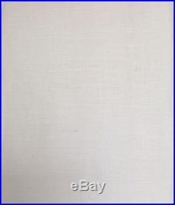 POTTERY BARN 2 EMERY LINEN/COTTON DRAPES WHITE 50X96 NEW