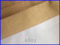 POTTERY BARN PEYTON Double Wide Drape, Linen Blend, 100 x 108 Lined New