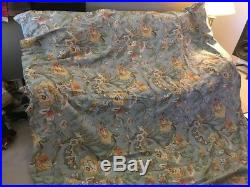 POTTERY BARN Vanessa Bedding 2 Queen Duvets And Curtain Set
