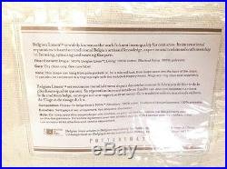 Pottery Barn 2 Belgian Linen Blackout Lining Drapes 50x108 Ivory New