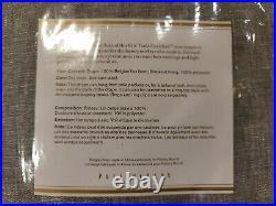Pottery Barn Belgian Flax Linen Rod Pocket Blackout Curtain 50x84, Chambray Gray