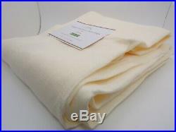 Pottery Barn Belgian Flax Linen Sheer Drape Curtain Panel 50 X 96 Ivory #4694