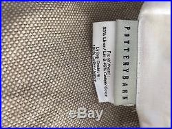 Pottery Barn Belgian Linen/cotton drapes (pair) with free shipping