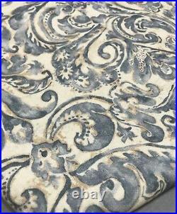 Pottery Barn Blue Sierra Print 108 Panel Curtain Drape