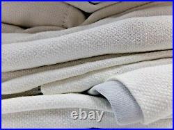 Pottery Barn Broadway Blackout Drape Curtains White 50x108 Set of 4 #7897Q
