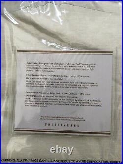 Pottery Barn Classic Belgian Flax Linen drape curtains 50x108 ivory Pair 2