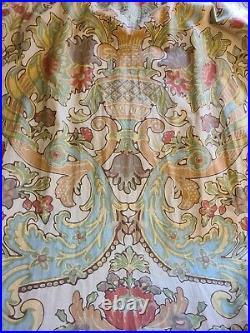Pottery Barn Curtain Kravet Lutron Vintage Window Drape 4 50x96 Linen Lined