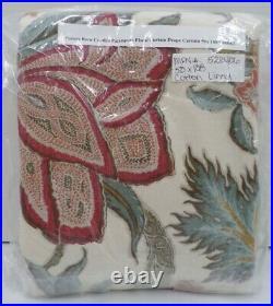 Pottery Barn Cynthia Palampore Floral Curtain Drape Curtain 50x 108 #9083