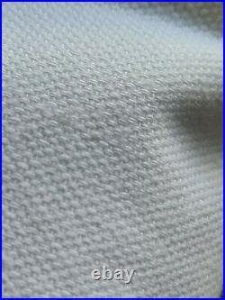 Pottery Barn Design Crew Basics 2 Curtain Panels 96 White New NWT Set