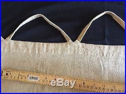 Pottery Barn Drapes Wheat Gold 54 X 84 Linen Curtains Pair