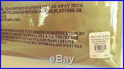 Pottery Barn Dupioni Silk Curtains/Drapes, PAIR of Single Panels, 50x96 ea