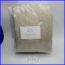 Pottery Barn Emery Blackout Curtain Drape Oatmeal 100x96