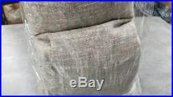Pottery Barn Emery Cotton Linen 100x108 in Sable