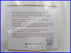 Pottery Barn Emery Linen Cotton Lined Drape Curtain 50 x 96 White S/ 2 #3630A
