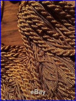 Pottery Barn Gold Velvet Drapes 3 Panels 96 X 48 4 Tie