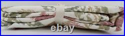 Pottery Barn Ines Printed Curtain Drape Panel Cotton Lined 50 x 96 S/ 4 #8105