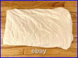 Pottery Barn Ivory Cream Off White Silk Dupioni Curtain S Drapes Set Of 2