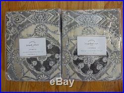 Pottery Barn JACQUELYN MEDALLION DRAPES-SET OF 2-50 X 96-NWT