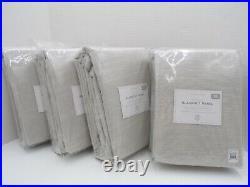 Pottery Barn Kids Evelyn Blackout Panels Drapes Curtains Gray S/ 4 44x96 #9804B