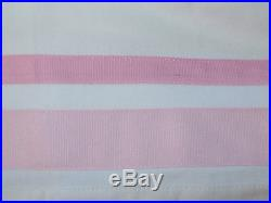 Pottery Barn Kids Harper Blackout Panel Curtain 44 x 63 Light Pink Ribbon New