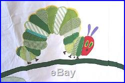 Pottery Barn Kids The Very Hungry Caterpillar Shower Curtain Eric Carle NEW